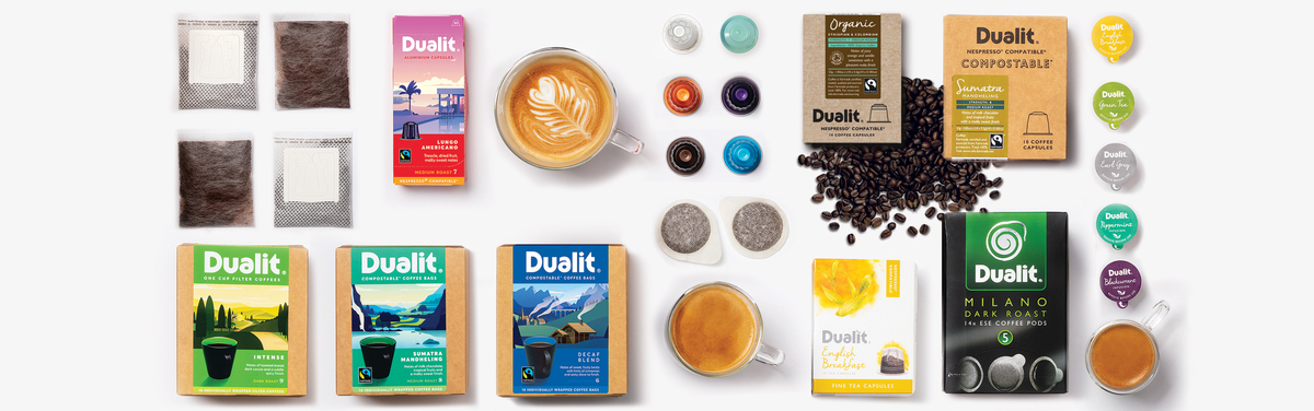 Coffee Capsules Pods From Dualit Dualit 3 In 1