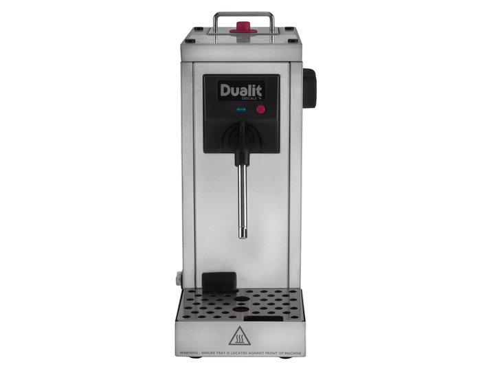 Dualit Cafe Cino Capsule Elegant Black Coffee Machine Built-in Milk Frother