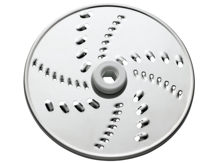 Food processor grating disc