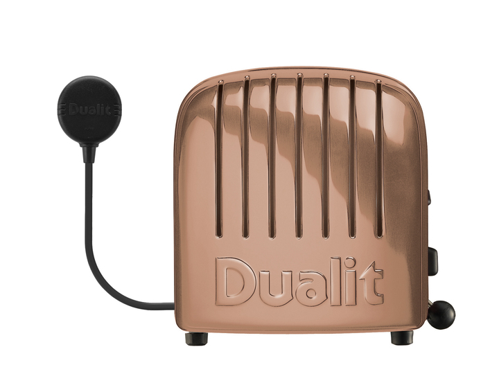 Copper Finish 4 Slice Toaster | The