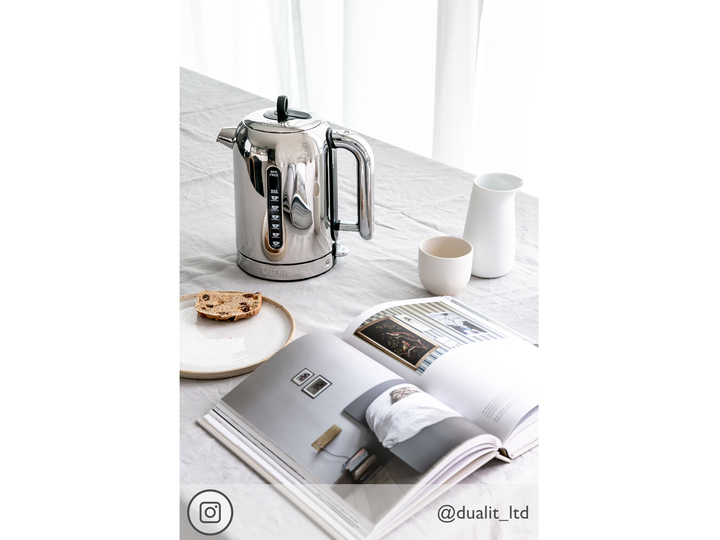 Polished Dualit's Classic Kettle