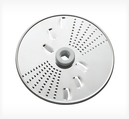Food processor shredding disc